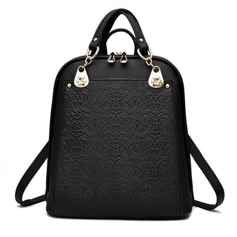 B2010 JKT IDR.185.000 MATERIAL PU SIZE L28XH31XW13CM WEIGHT 850GR COLOR BLACK