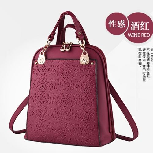 B2010 JKT IDR.185.000 MATERIAL PU SIZE L28XH31XW13CM WEIGHT 850GR COLOR WINE