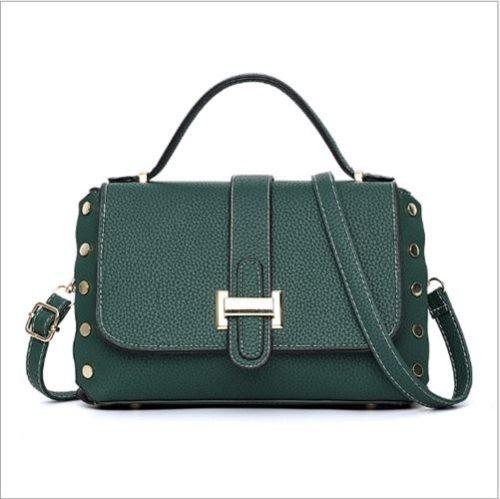 B22031-green Tas Handbag Selempang Elegan Wanita Cantik Terbaru
