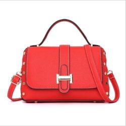 B22031-red Tas Handbag Selempang Elegan Wanita Cantik Terbaru