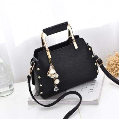 B2222-black Tas Selempang Import Wanita Cantik