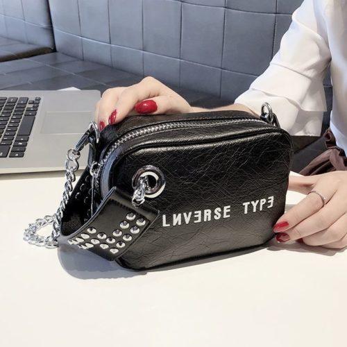 B230-black Tas Selempang Fashion Modis Wanita Cantik