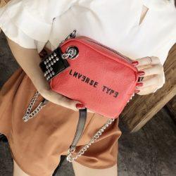 B230-red Tas Selempang Fashion Modis Wanita Cantik