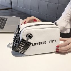 B230-white Tas Selempang Fashion Modis Wanita Cantik