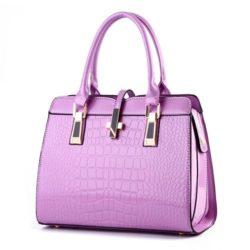B2702-purple Tas Handbag Wanita Cantik Elegan Terbaru