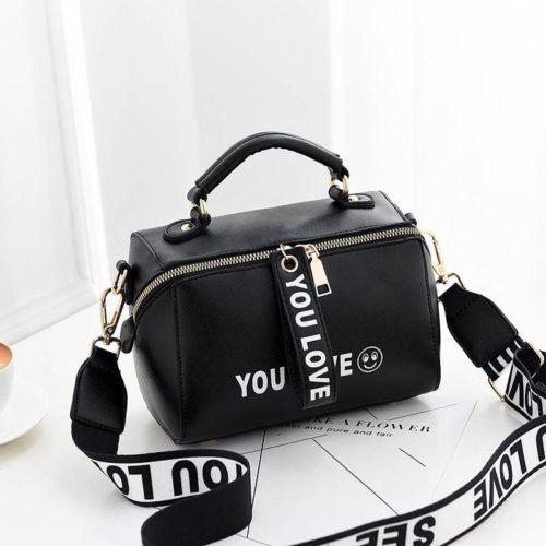 Jual B2940-black Tas Selempang Kekinian Fashion Wanita ...