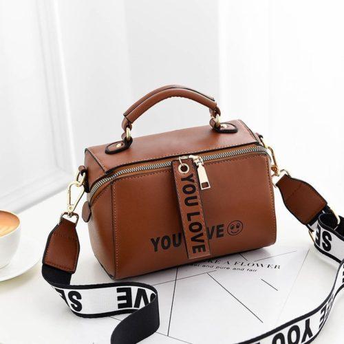 B2940-brown Tas Selempang Kekinian Fashion Wanita Cantik