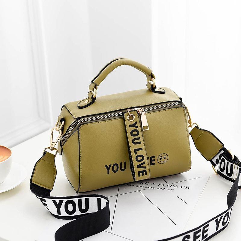 Jual B2940-green Tas Selempang Kekinian Fashion Wanita ...