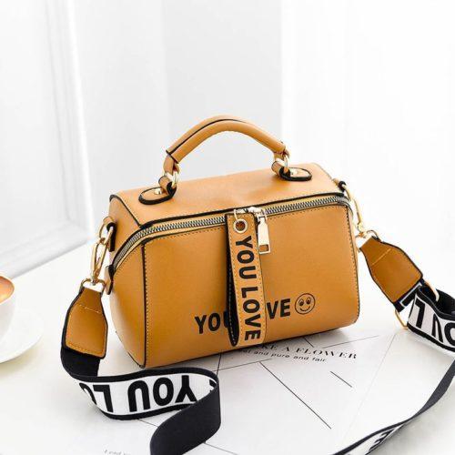 B2940-yellow Tas Selempang Kekinian Fashion Wanita Cantik