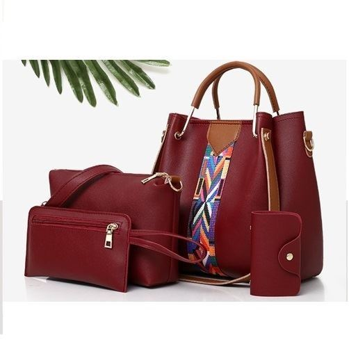 B3108 JKT IDR.152.000 MATERIAL PU SIZE L25XH25XW13 L23XH15 L20XH12CM WEIGHT 850GR 4IN1 COLOR RED
