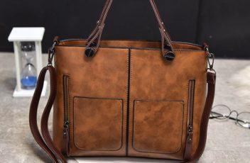 B335-brown Tas Selempang Vintage Cantik Import Kekinian