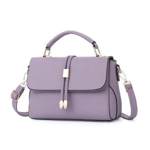 B3369-purple Tas Pesta Wanita Minimalis Import