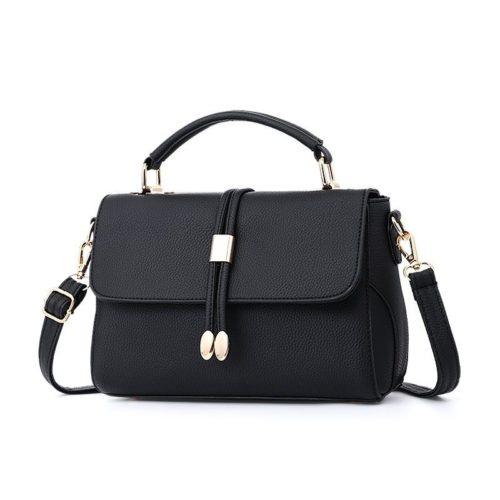 B3369-black Tas Pesta Wanita Minimalis Import