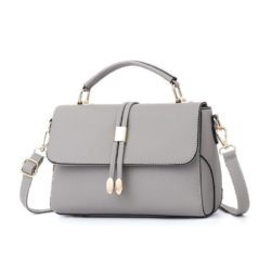 B3369-gray Tas Pesta Wanita Minimalis Import