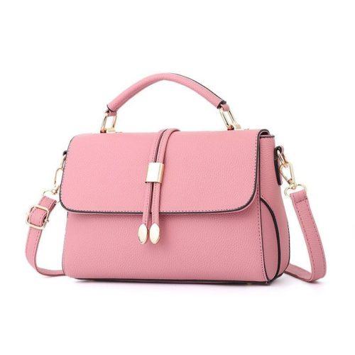B3369-pink Tas Pesta Wanita Minimalis Import