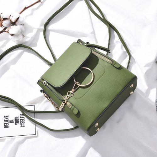 B369-green Tas Ransel Fashion Import Wanita