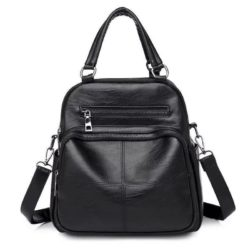 B4116-black Tas Ransel Fashion Stylish Tali Selempang