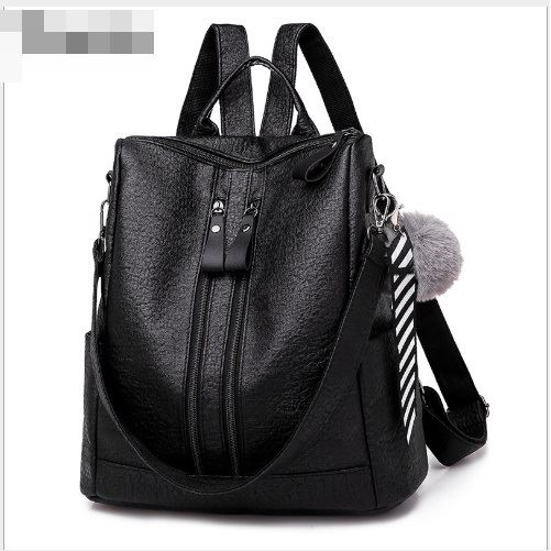 B4310 JKT IDR.163.000 MATERIAL PU SIZE L31XH30XW14CM WEIGHT 550GR COLOR BLACK
