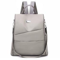 B4423-gray Tas Ransel Fashion Wanita Elegan Import