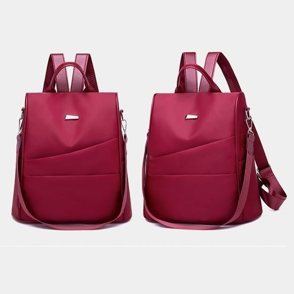 B4423 JKT IDR.165.000 MATERIAL NYLON SIZE L30XH30XW15CM WEIGHT 500GR COLOR RED