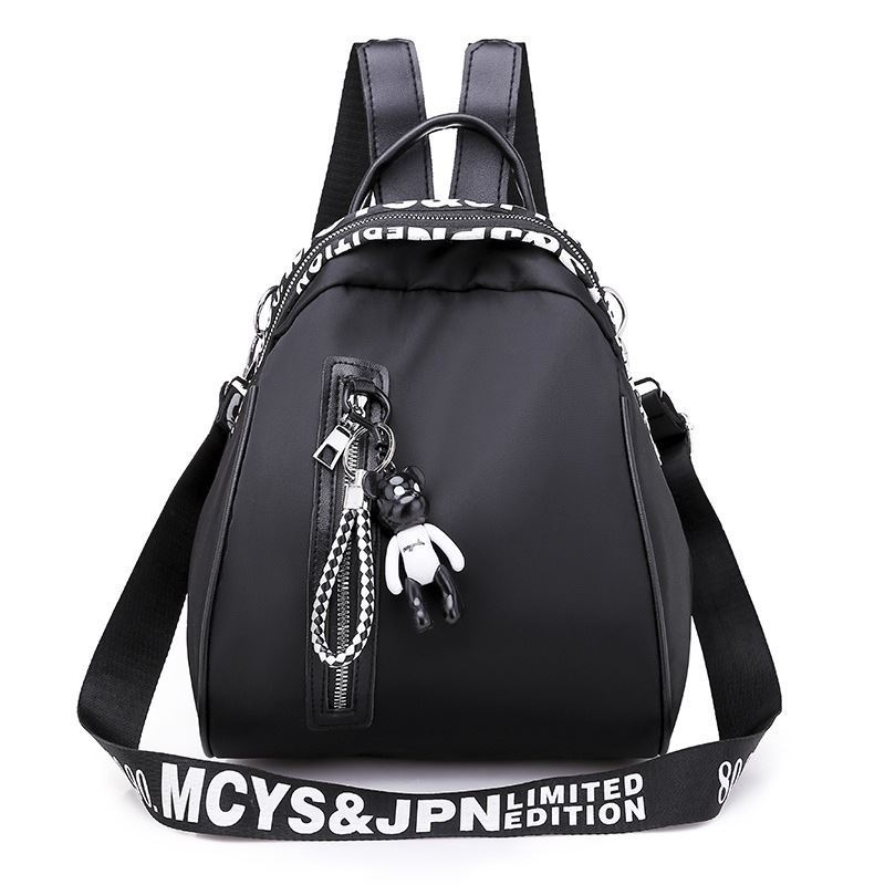 B4513 JKT IDR.161.000 MATERIAL NYLON SIZE L26XH23XW18CM WEIGHT 500GR COLOR BLACK