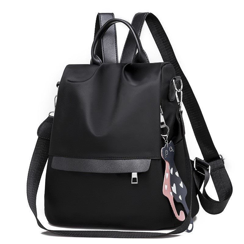 B4519 JKT IDR.155.000 MATERIAL NYLON SIZE L30XH33XW15CM WEIGHT 450GR COLOR BLACK