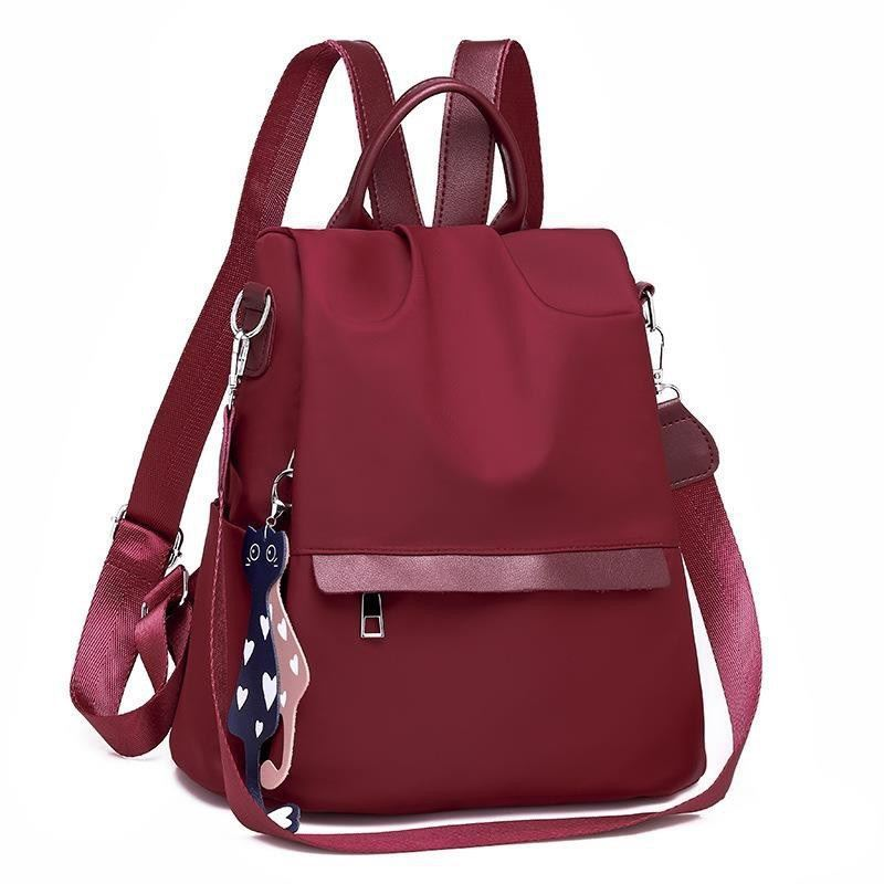 B4519 JKT IDR.155.000 MATERIAL NYLON SIZE L30XH33XW15CM WEIGHT 450GR COLOR RED
