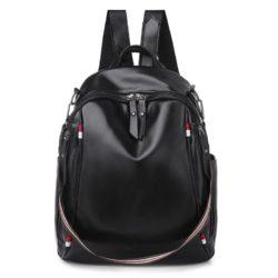 B4526-black Tas Ransel Fashion Import Terbaru Wanita