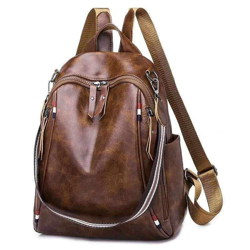 B4526 JKT IDR.164.000 MATERIAL PU SIZE L26XH34XW11CM WEIGHT 650GR COLOR BROWN