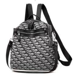 B471-black Tas Ransel Wanita Stylish Modis Import