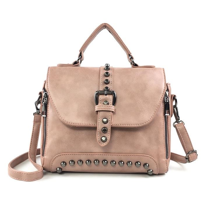 B522 JKT IDR.175.000 MATERIAL PU SIZE L25XH19XW12CM WEIGHT 850GR COLOR PINK