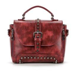 B522-wine Tas Handbag Wanita Elegan Import Terbaru