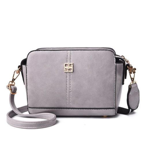 B603-gray Tas Selempang Wanita Cantik Import