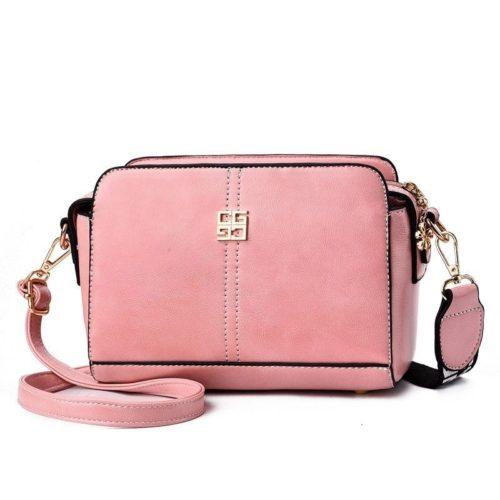B603-pink Tas Selempang Wanita Cantik Import