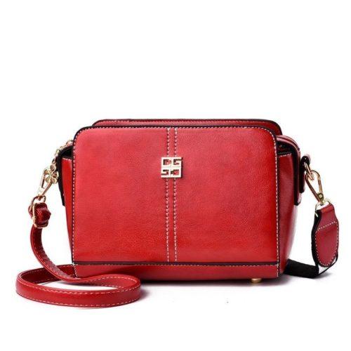 B603-red Tas Selempang Wanita Cantik Import