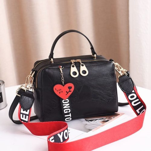 B6366-black Tas Selempang Fashion Import Wanita
