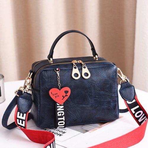 B6366-blue Tas Selempang Fashion Import Wanita