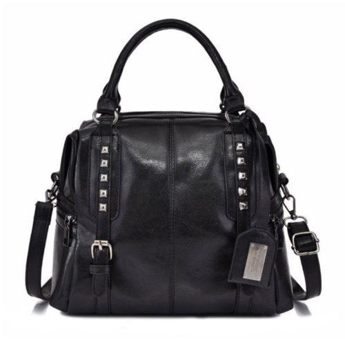 B6608-black Tas Selempang Wanita Cantik Import Elegan