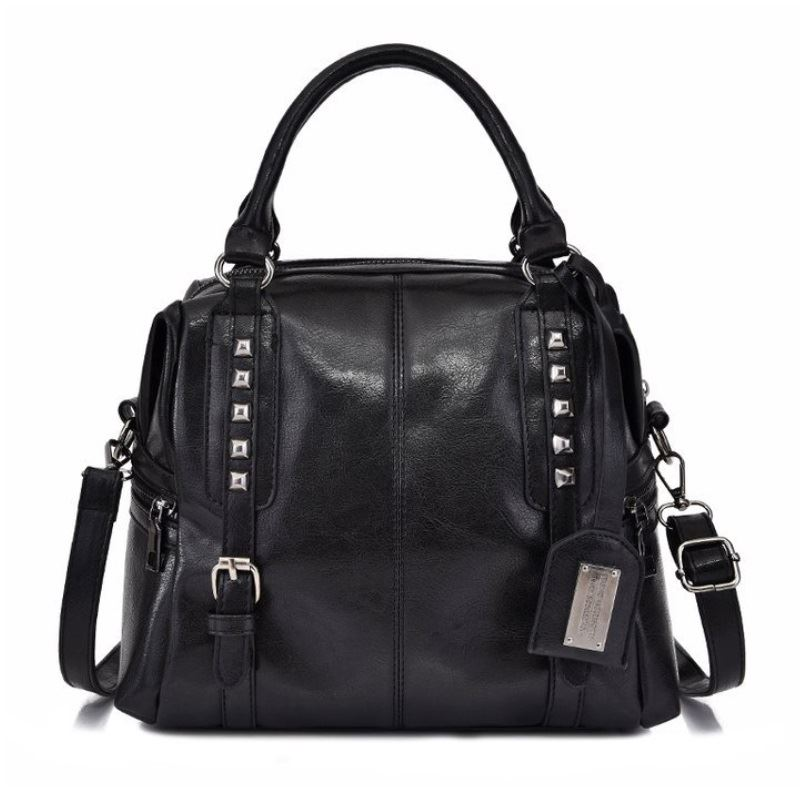 B6608 IDR.187.000 MATERIAL PU SIZE L27XH23XW16CM WEIGHT 700GR COLOR BLACK