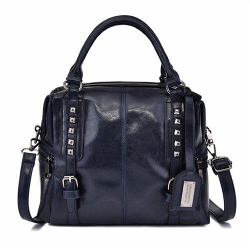B6608-blue Tas Selempang Wanita Cantik Import Elegan