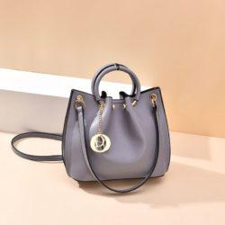 B6821-gray Tas Jinjing Minimalis Dengan Tali Selempang