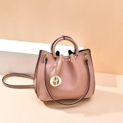 B6821-pink Tas Jinjing Minimalis Dengan Tali Selempang