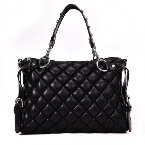 B6876-black Tas Selempang Fashion Kekinian Import
