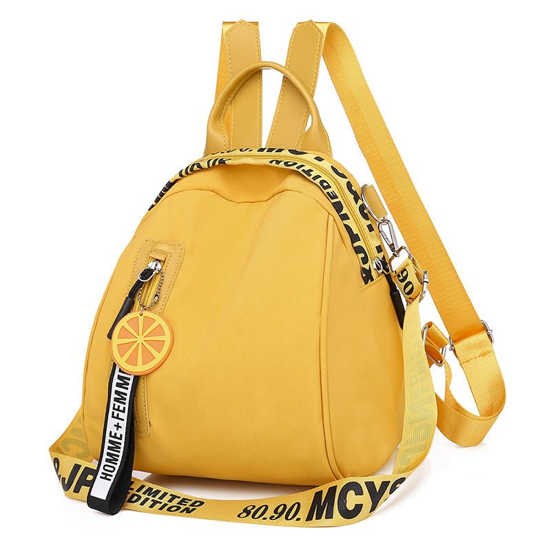 B7079 JKT IDR.160.000 MATERIAL OXFORD SIZE L23XH25XW17.5CM WEIGHT 500GR COLOR YELLOW