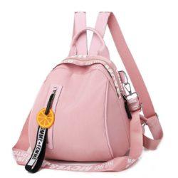 B7079-pink Tas Ransel Stylish Lucu Homme + Femme