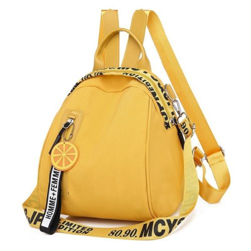 B7079-yellow Tas Ransel Stylish Lucu Homme + Femme