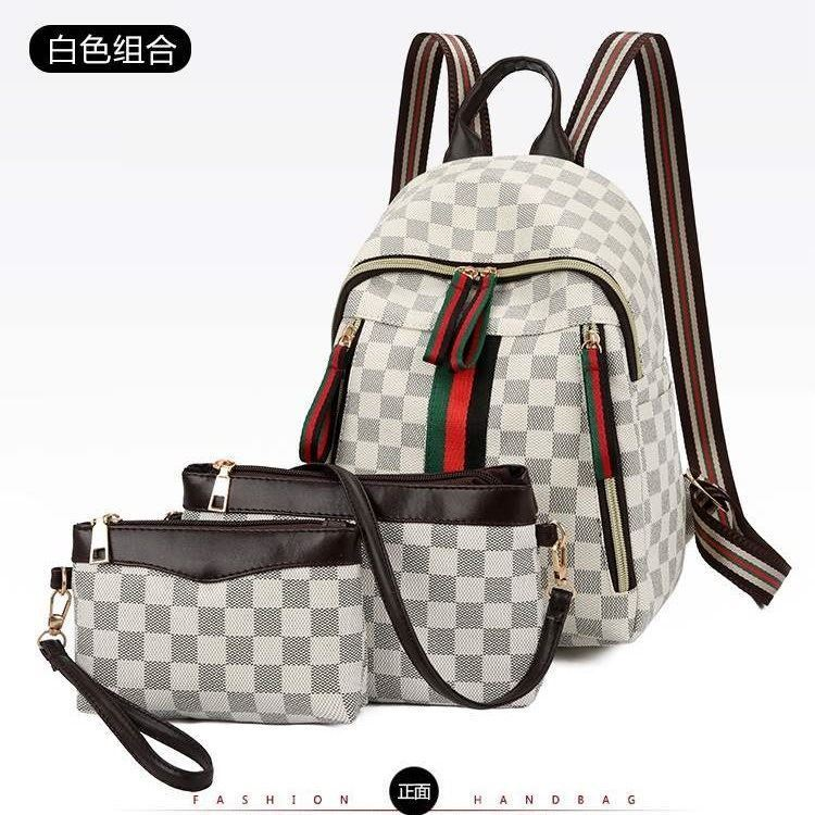B8046 (3IN1) JKT IDR.167.000 MATERIAL PU SIZE L23XH29XW12CM WEIGHT 600GR COLOR WHITE
