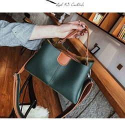 B8088-green Tas Selempang Modis Cantik Import