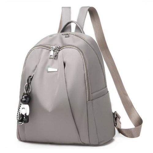 B813464 JKT IDR.160.000 MATERIAL NYLON SIZE L30XH33XW15CM WEIGHT 450GR COLOR GRAY
