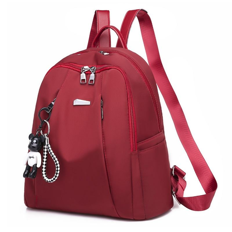 B813464 JKT IDR.160.000 MATERIAL NYLON SIZE L30XH33XW15CM WEIGHT 450GR COLOR RED